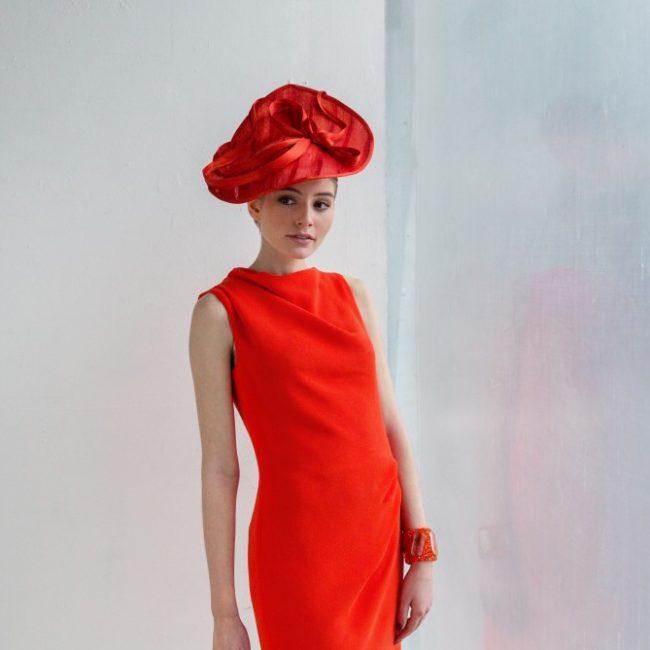 Glamorous red hat