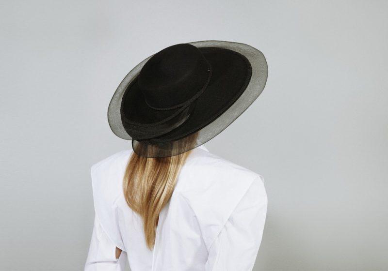 Grand chapeau canotier