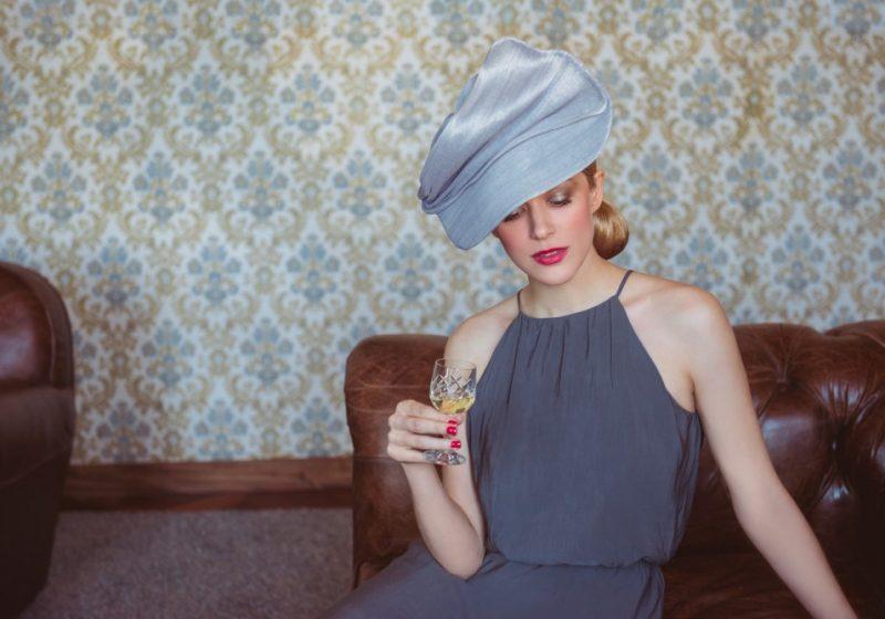 Chapeau couture et délicat