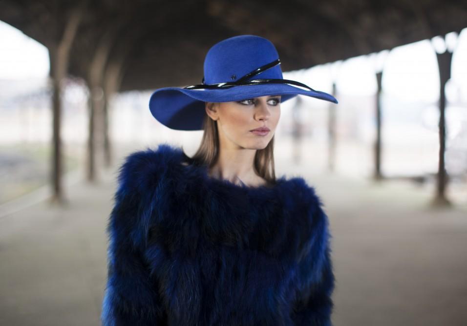 Capeline hoed in vilt