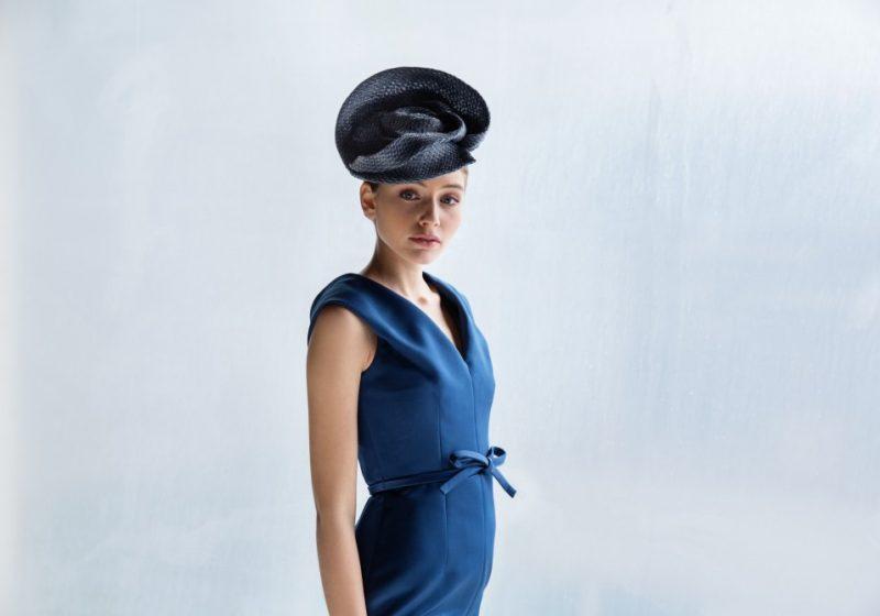 Vrouwelijke bibi hoed in stro