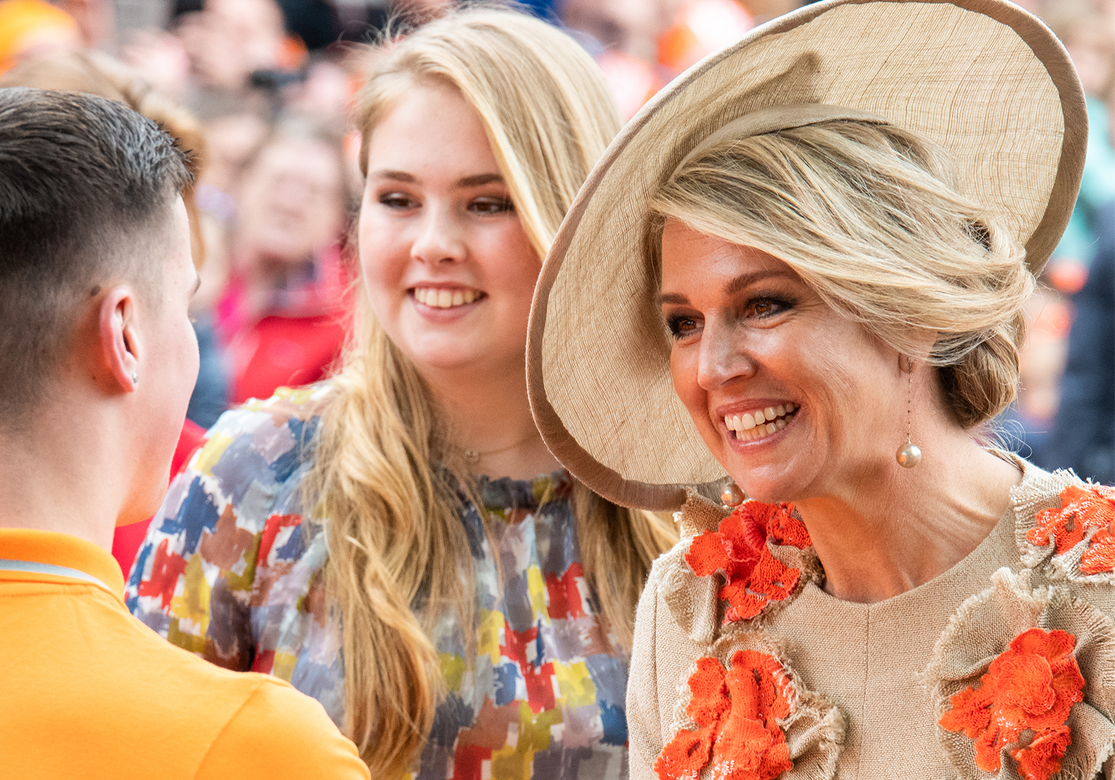 Royal day 2019 - Queen Maxima wearing a couture hat