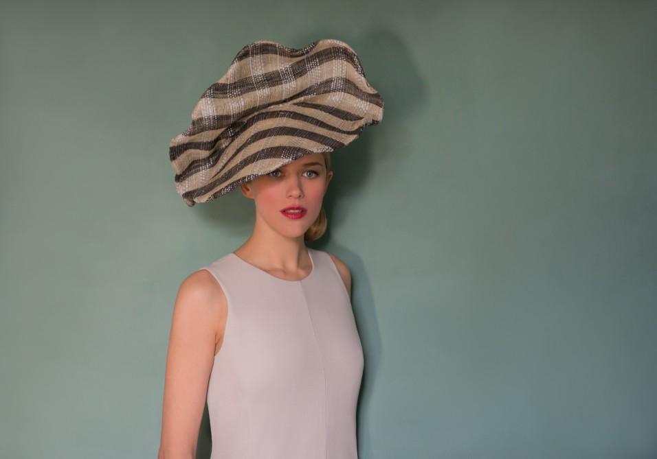 Extraordinary multicolored hat