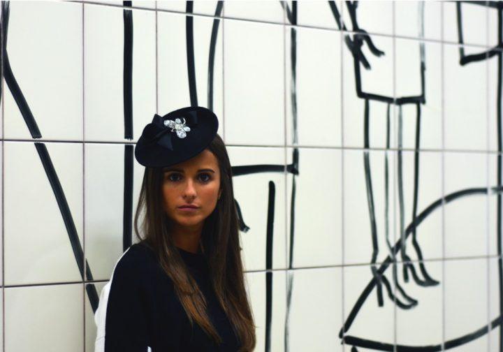 Felt bibi hat