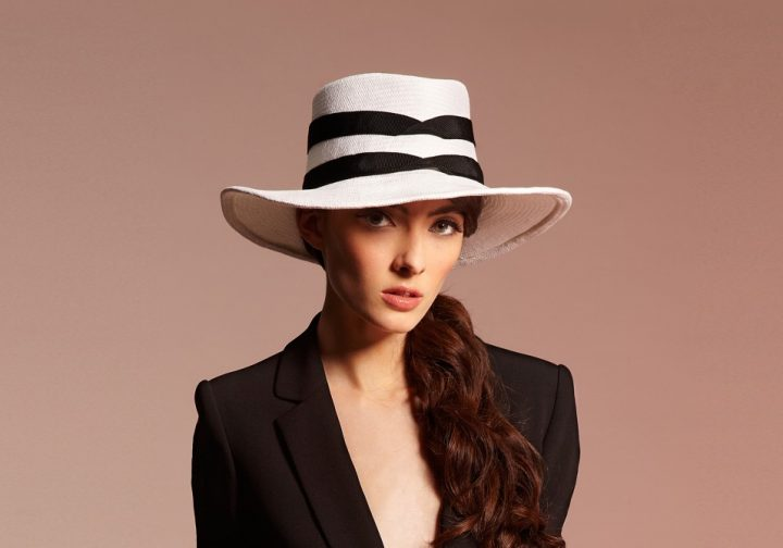 Chapeau fedora en panama
