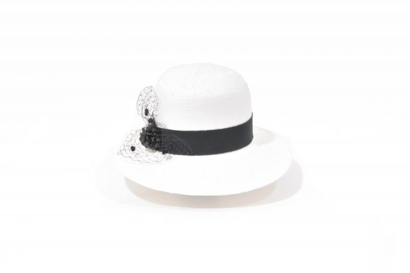 Boater hat in panama