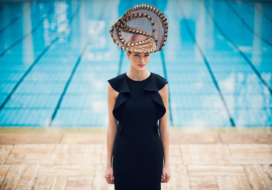 Exceptional couture hat