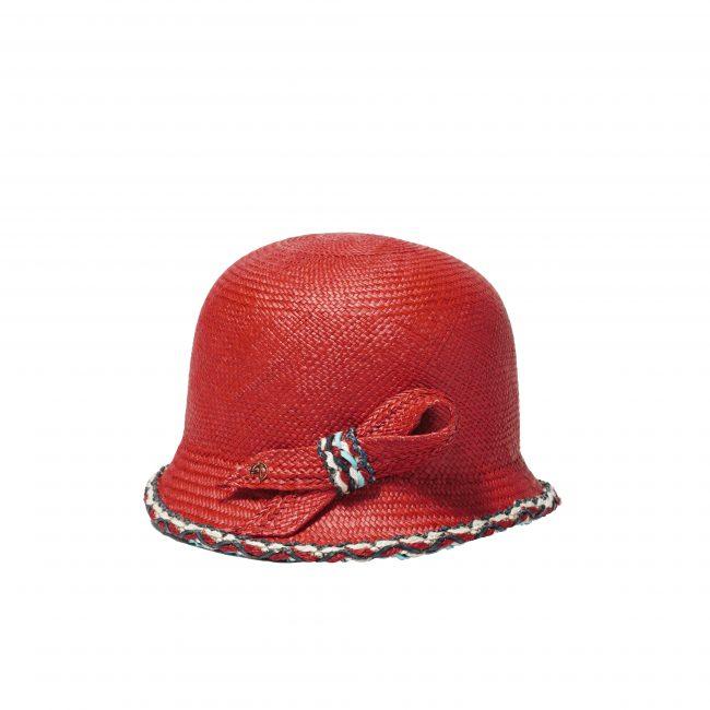 Chapeau cloche en panama