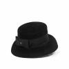 Chapeau cloche en feutre velours