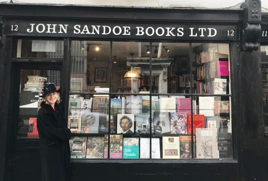 "The book ""Sublimating through Difference"" sold at John Sandoe Books in London."
