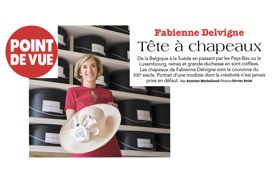 """Le Point de Vue"" puts into perspective the fabulous 30 years of the Fabienne Delvigne's career"