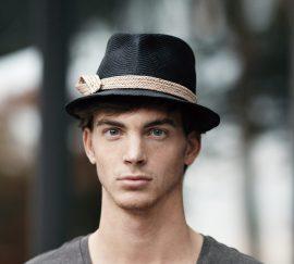 Fabienne Delvigne Chapeau Homme Feutre Noir