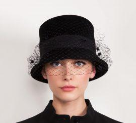 Fabienne Delvigne Hat Josephine Black