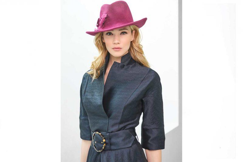 Fabienne-Delvigne-Hat-Fedora-Raphaelle-Velvet-Felt-Violine